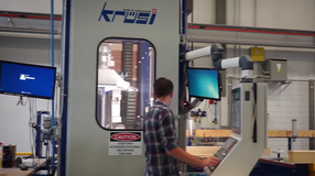 Dietrich's generates the appropriate CAM file format for the import and processing in DIRTT's Krüsi CNC machinery.