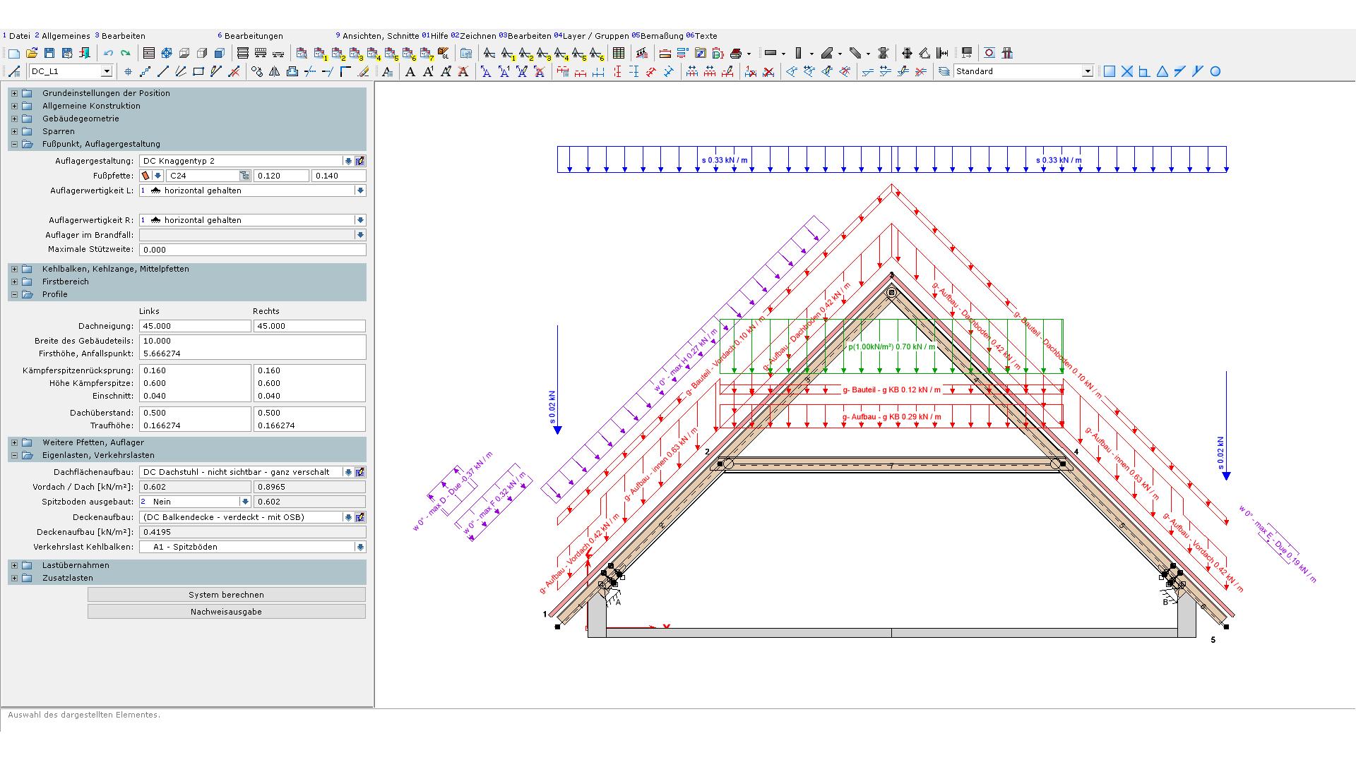 Extrem Dietrich's - Dachkonstruktionen WP67